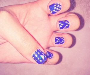 blue, filtro, and nails image