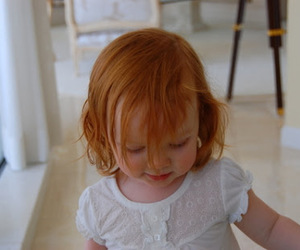 baby, redhead, and child image