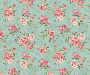 flowers, vintage, and wallpaper image
