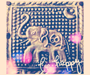 edited, elephant, and pretty image