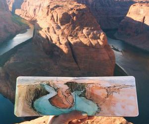 art, nature, and drawing image