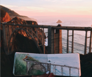 art, drawing, and travel image