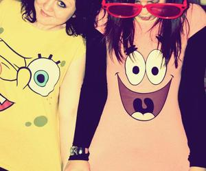 best friends, spongebob, and I Love You image