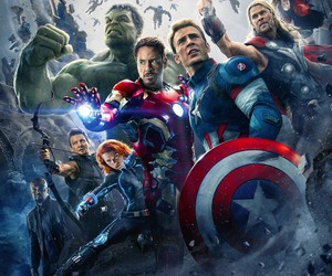 Avengers, Hulk, and black widow image