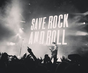 black and white, rock, and show image