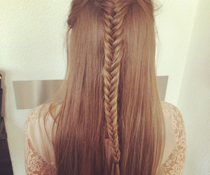 girly, hairstyle, and lifestyle image