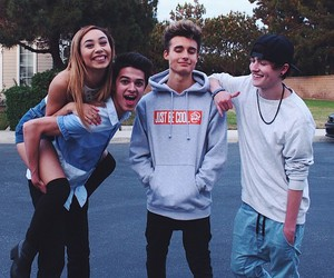 crawford collins, brent rivera, and friends image