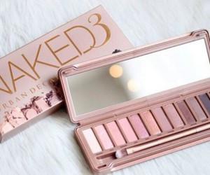 makeup, pink, and naked image