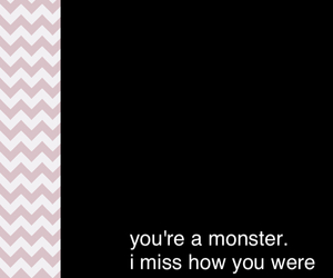 anger, monster, and unrequited love image
