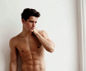 abs, hot boy, and shirtless image