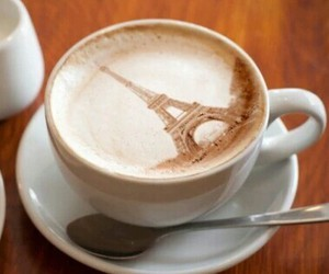 coffee and paris image