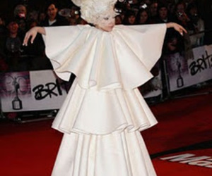 Lady gaga and crazy outfits image