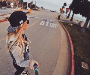 girl, skate, and tumblr image