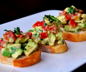 food and bruschetta image