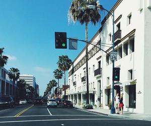 city, california, and la image