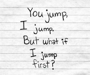 false, sad, and jump image