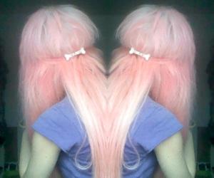 hair, girl, and pink hair image