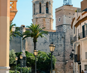 spain, travel, and sitges image