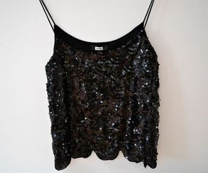 fashion, outfit, and sequins image