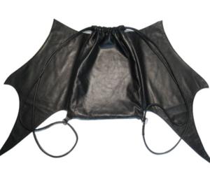 bag, bat, and batman image