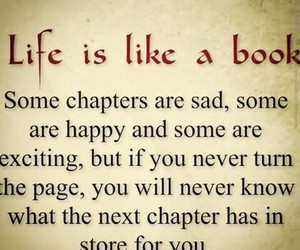 books, chapter, and life image