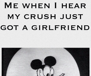 crush, funny, and girlfriend image