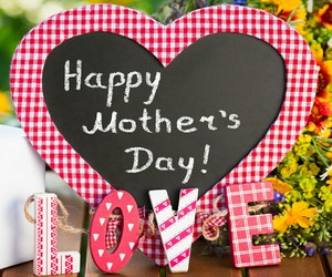mom, love, and mother's day image