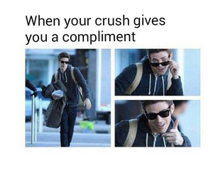funny, compliment, and crush image