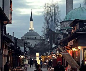 balkan, city, and mosque image
