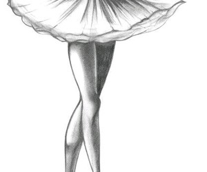 ballet, dance, and drawing image