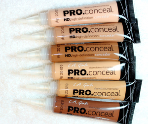 makeup, cosmetics, and concealer image