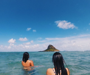 girl, inspiration, and ocean image