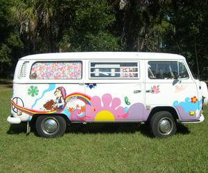 hippie, my dream, and hippie van image