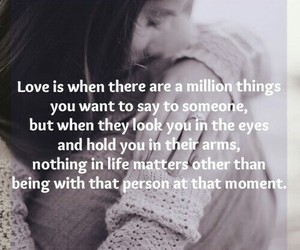 eyes, hug, and quotes image