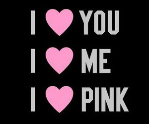 pink, me, and you image