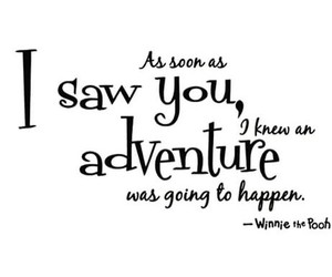 quote, adventure, and winnie the pooh image