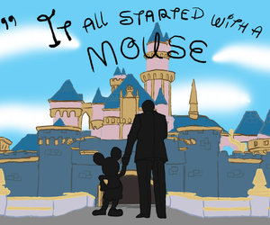 beginning, disney, and mickey image