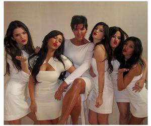 kardashian, kendall jenner, and kiss image