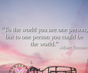 love, Albert Einstein, and quote image