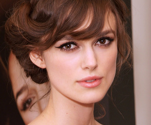 makeup, keira knightley, and hair image