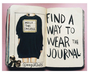 drawing and wreck this journal image
