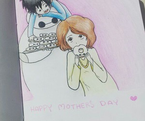disney, hiro, and mother's day image