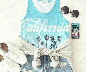 california, cool, and outfits image