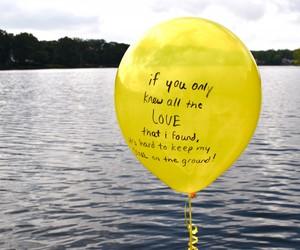 yellow ballon image