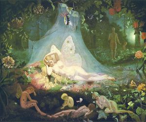 art, fairy, and john simmons image