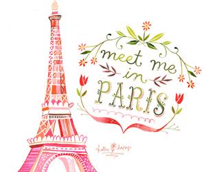 fashion, paris, and sketch image