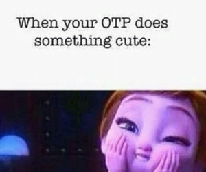 otp, fangirl, and fangirling image