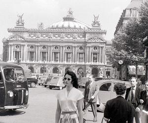 1950s, paris, and 1955 image