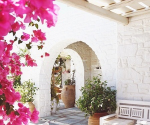architecture, mykonos, and vacation image