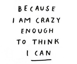 quotes, can, and crazy image